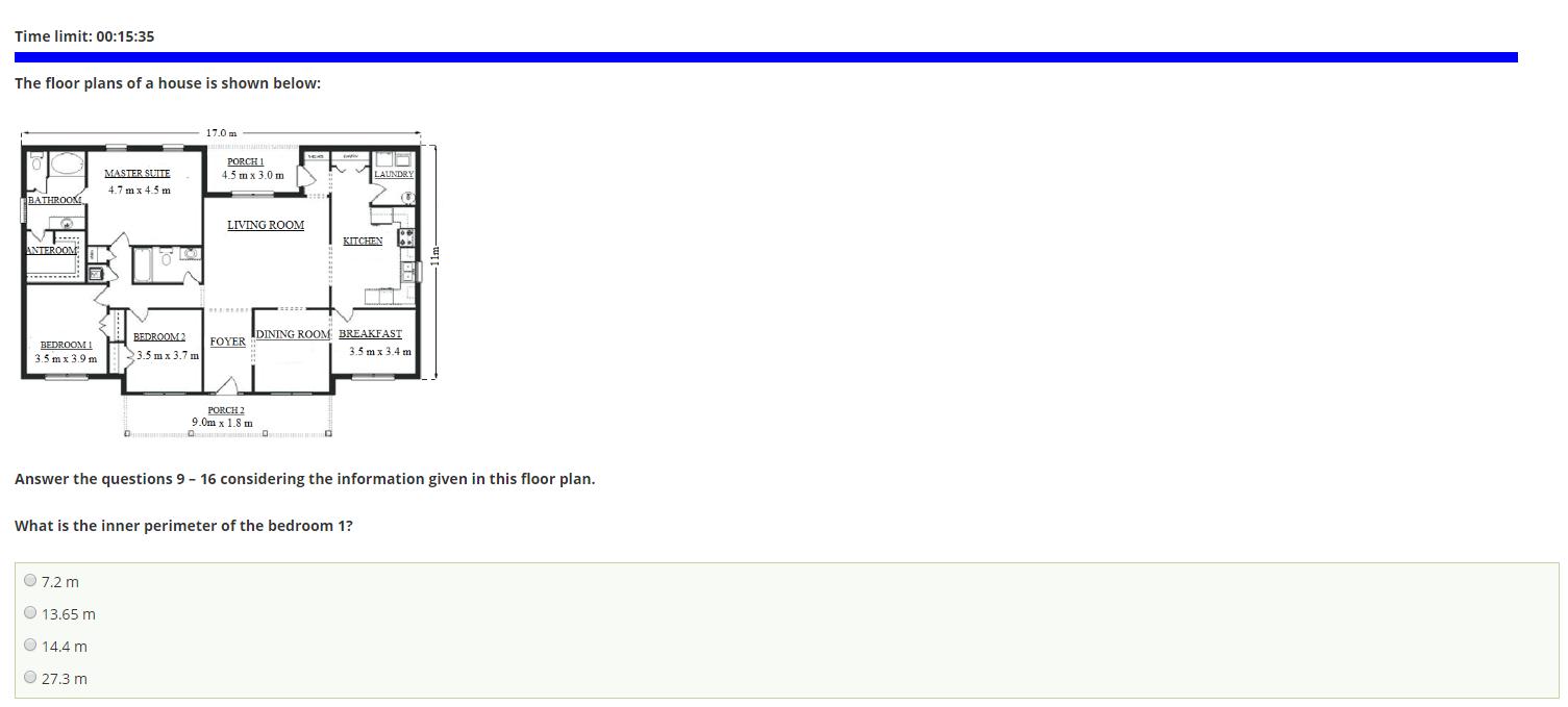 Graphic Arithmetic Test