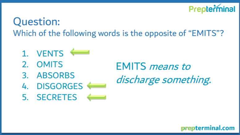 Antonyms - Intermediate